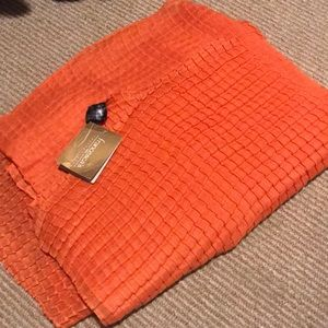 Orange Scarf! New with tags!